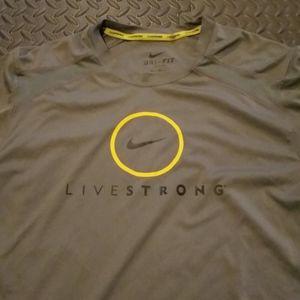 Nike LiveStrong Tshirt